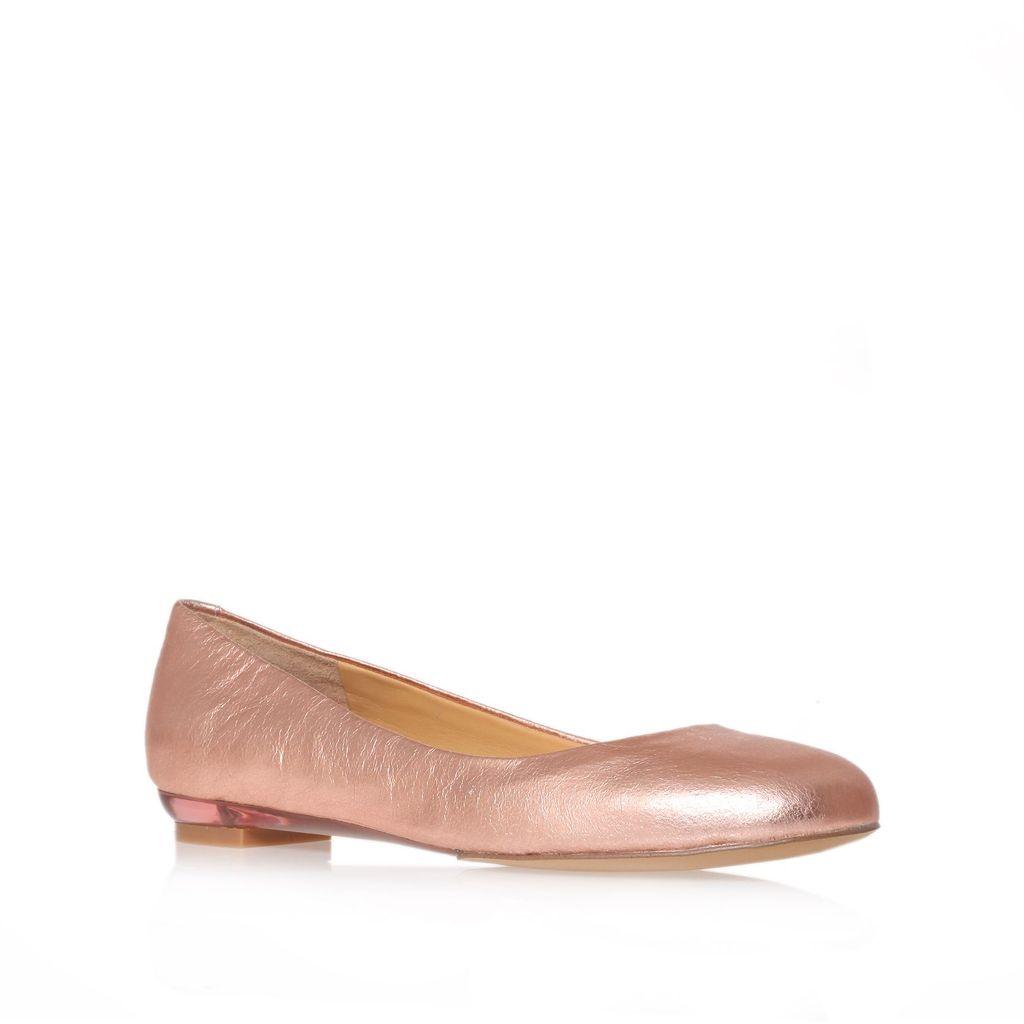Nine West Guzzler Flat Shoes Rose Gold