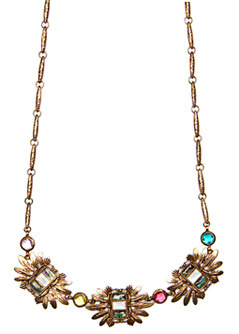 Necklace 3 Etnic T C - predominant colour: gold; style: standard; length: long; size: standard; material: chain/metal
