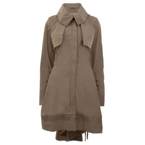 Marith et fran ois girbaud crinkle trench detail parka for 40 eastbourne terrace london w2 6lg