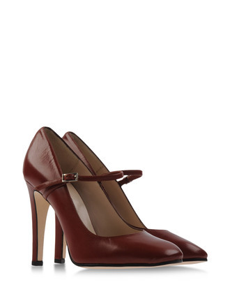 Pumps Heels Pumps On Shoescribe. - predominant colour: burgundy; material: leather; heel height: high; embellishment: buckles; ankle detail: ankle strap; heel: stiletto; toe: round toe; style: mary janes