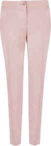 Ted Baker Jaynet Tuxedo Suit Trouser - length: standard; pattern: plain; pocket detail: small back pockets, pockets at the sides; waist: mid/regular rise; predominant colour: blush; occasions: casual, evening, work; fibres: wool - mix; waist detail: narrow waistband; texture group: crepes; fit: slim leg; pattern type: fabric; pattern size: standard; style: standard