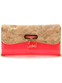 Riviera Patent Leather Clutch - predominant colour: true red; occasions: evening, occasion; type of pattern: standard; style: clutch; length: hand carry; size: standard; material: leather; pattern: plain; finish: patent