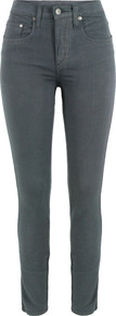 Cult Skinny Grey Jeans - style: skinny leg; length: standard; pattern: plain; pocket detail: traditional 5 pocket; waist: mid/regular rise; predominant colour: charcoal; occasions: casual; fibres: cotton - stretch; texture group: denim; pattern type: fabric; pattern size: standard