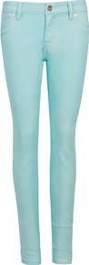 Ted Baker Esstie Skinny Jeans - style: skinny leg; length: standard; pattern: plain; pocket detail: traditional 5 pocket; waist: mid/regular rise; predominant colour: pale blue; occasions: casual, holiday; fibres: cotton - stretch; texture group: denim; pattern type: fabric