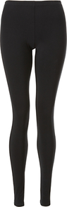 Petal Leggings - length: standard; pattern: plain; style: leggings; waist detail: elasticated waist; waist: mid/regular rise; predominant colour: black; occasions: casual; fibres: viscose/rayon - 100%; texture group: jersey - clingy; fit: skinny/tight leg; pattern type: fabric