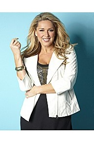 Claire Sweeney Collarless Pu Biker Jacket - pattern: plain; style: biker; collar: asymmetric biker; fit: slim fit; predominant colour: ivory; occasions: casual; length: standard; fibres: viscose/rayon - 100%; sleeve length: 3/4 length; sleeve style: standard; texture group: leather; collar break: high/illusion of break when open; pattern type: fabric; embellishment: quilted