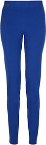 Mercer Pant - length: standard; pattern: plain; waist: mid/regular rise; predominant colour: royal blue; occasions: casual, evening; fibres: cotton - stretch; texture group: cotton feel fabrics; fit: skinny/tight leg; pattern type: fabric; style: standard