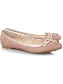 Suedette Loafer Shoes Wheat - predominant colour: nude; occasions: casual, work; material: suede; heel height: flat; embellishment: tassels; toe: round toe; style: loafers; finish: plain; pattern: plain
