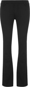 Black Ultra Soft Bootcut Jegging - style: bootcut; length: standard; pattern: plain; pocket detail: traditional 5 pocket; waist: mid/regular rise; predominant colour: black; occasions: casual, evening, work; fibres: cotton - 100%; texture group: denim; pattern type: fabric