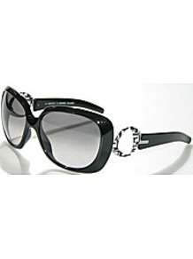 Sunglasses - predominant colour: black; occasions: casual, holiday; style: square; size: standard; material: plastic/rubber; pattern: plain; finish: plain