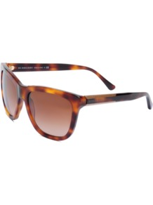 Sunglasses 4130 - predominant colour: chocolate brown; occasions: casual, holiday; style: d frame; size: standard; material: plastic/rubber; pattern: tortoiseshell; finish: plain