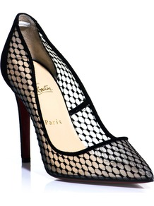 Pigaresille 100mm Pumps - predominant colour: black; occasions: evening, work, occasion; material: fabric; heel height: high; heel: stiletto; toe: pointed toe; style: courts; finish: plain; pattern: plain