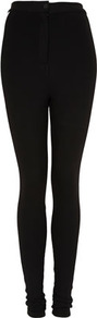 Tall Ponte Side Stripe Treggings - length: standard; pattern: plain; style: leggings; waist: high rise; predominant colour: black; occasions: casual, evening, work; fibres: polyester/polyamide - stretch; waist detail: narrow waistband; fit: skinny/tight leg; pattern type: fabric; pattern size: standard; texture group: jersey - stretchy/drapey