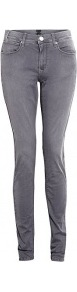 Dove Grey Day Snipe Jeggings - pattern: plain; style: leggings; waist detail: fitted waist; pocket detail: traditional 5 pocket; length: extra long; waist: mid/regular rise; predominant colour: mid grey; occasions: casual; fibres: cotton - stretch; hip detail: fitted at hip (bottoms); texture group: denim; fit: skinny/tight leg; pattern type: fabric