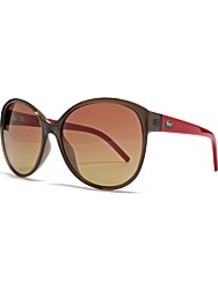Cateye Sunglasses - predominant colour: chocolate brown; occasions: casual, evening, work, occasion, holiday; style: cateye; size: large; material: plastic/rubber; pattern: plain; finish: plain