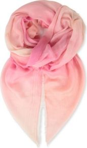 Ombre Cashmere Blend Scarf - predominant colour: blush; occasions: casual, evening, work, occasion, holiday; type of pattern: light; style: regular; size: standard; material: fabric; pattern: two-tone
