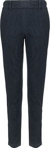 Naples Jeans - length: standard; pattern: plain; style: slim leg; waist: mid/regular rise; predominant colour: navy; occasions: casual, evening; fibres: cotton - stretch; jeans detail: dark wash; texture group: denim; pattern type: fabric; pattern size: standard
