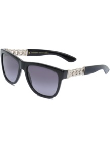 Sunglasses Ysl 6373/S - predominant colour: black; occasions: casual, holiday; style: d frame; size: standard; material: plastic/rubber; pattern: plain; finish: plain
