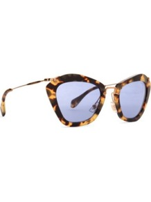 Noir Forties Style Tortoiseshell Sunglasses - predominant colour: chocolate brown; occasions: casual, holiday; style: novelty; size: standard; material: plastic/rubber; pattern: tortoiseshell; finish: plain