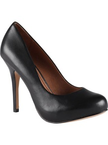 Bessodia Court Shoes, Black - predominant colour: black; occasions: evening, work, occasion; material: leather; heel height: high; heel: stiletto; toe: round toe; style: courts; finish: plain; pattern: plain