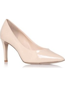 Charly3 - predominant colour: ivory; occasions: evening, work, occasion; material: leather; heel height: high; heel: stiletto; toe: pointed toe; style: courts; finish: patent; pattern: plain