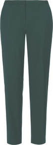 Contemporary Tailoring Trousers - length: standard; pattern: plain; waist: mid/regular rise; predominant colour: dark green; occasions: casual, work; fibres: wool - 100%; fit: slim leg; pattern type: fabric; texture group: woven light midweight; style: standard