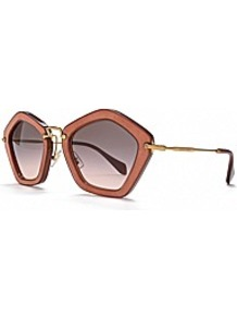 Star Sunglasses - predominant colour: bronze; occasions: casual, holiday; style: novelty; size: large; material: plastic/rubber; pattern: plain; finish: plain