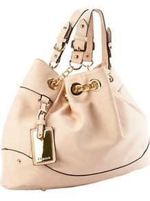 Deja Slouchy Bag - predominant colour: nude; occasions: casual, evening, work, holiday; type of pattern: standard; style: tote; length: handle; size: standard; material: faux leather; pattern: plain; finish: plain; embellishment: chain/metal