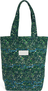 Ridley Tote Bag - predominant colour: dark green; occasions: casual; type of pattern: heavy; style: tote; length: shoulder (tucks under arm); size: standard; material: fabric; finish: plain; pattern: patterned/print