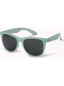 F3405 Clear Wayfarer Sunglasses - predominant colour: pistachio; occasions: casual, holiday; style: d frame; size: large; material: plastic/rubber; pattern: plain; finish: plain