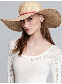 Gold Sparkle Floppy Hat - predominant colour: nude; occasions: casual, holiday; type of pattern: light; style: wide brimmed; size: large; material: macrame/raffia/straw; embellishment: beading; pattern: plain; secondary colour: dusky pink