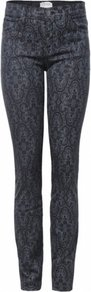 Black Antique Lace Skinny Jeans Uk - style: skinny leg; length: standard; pocket detail: traditional 5 pocket; waist: mid/regular rise; predominant colour: black; occasions: casual, evening; fibres: cotton - stretch; texture group: denim; pattern type: fabric; pattern size: big & busy; pattern: patterned/print