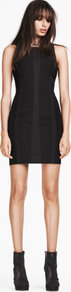 Dress - length: mini; neckline: round neck; fit: tight; pattern: plain; sleeve style: sleeveless; style: bodycon; waist detail: fitted waist; hip detail: fitted at hip; predominant colour: black; occasions: evening, occasion; fibres: polyester/polyamide - stretch; sleeve length: sleeveless; texture group: jersey - clingy; pattern type: fabric