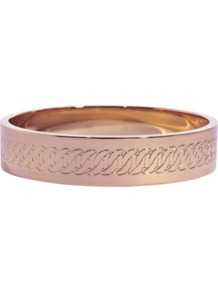Turnlock Bangle Bracelet - predominant colour: gold; occasions: casual, evening, work, occasion, holiday; style: bangle; size: standard; material: chain/metal; trends: metallics; finish: metallic; embellishment: chain/metal
