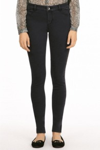 Jade Lightweight Skinny Jean - length: standard; pattern: plain; style: jeggings; pocket detail: traditional 5 pocket; waist: mid/regular rise; predominant colour: charcoal; occasions: casual; fibres: cotton - mix; jeans detail: dark wash; texture group: denim; pattern type: fabric