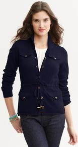 Heritage Cashmere Tie Front Cardigan - neckline: v-neck; pattern: plain; bust detail: pocket detail at bust; predominant colour: navy; occasions: casual, evening, work, holiday; length: standard; style: standard; fit: standard fit; waist detail: belted waist/tie at waist/drawstring; fibres: cashmere - 100%; sleeve length: long sleeve; sleeve style: standard; texture group: knits/crochet; pattern type: knitted - fine stitch