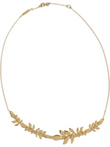 Gaby Necklace - predominant colour: gold; occasions: casual, evening, work, occasion; style: standard; length: mid; size: standard; material: chain/metal; finish: metallic; embellishment: chain/metal