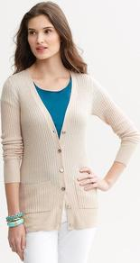 Silk Cashmere Long Cardigan - neckline: low v-neck; pattern: plain; length: below the bottom; predominant colour: stone; occasions: casual, work; style: standard; fibres: silk - mix; fit: slim fit; sleeve length: long sleeve; sleeve style: standard; texture group: knits/crochet; pattern type: knitted - fine stitch