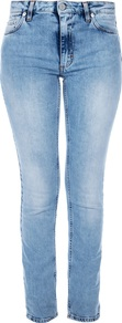 &#x27;Flex Silver&#x27; Skinny Jean - style: skinny leg; length: standard; pattern: plain; pocket detail: traditional 5 pocket; waist: mid/regular rise; predominant colour: denim; occasions: casual; fibres: cotton - stretch; texture group: denim; pattern type: fabric
