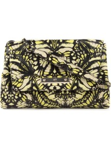 Camofly Clutch Bag - predominant colour: black; occasions: evening, occasion; type of pattern: heavy; style: clutch; length: hand carry; size: standard; material: leather; trends: statement prints; finish: plain; pattern: patterned/print; embellishment: chain/metal