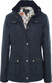 Navy Morris Utility Waxed Jacket Uk - pattern: plain; bust detail: added detail/embellishment at bust; style: single breasted; length: mid thigh; predominant colour: navy; occasions: casual; fit: straight cut (boxy); fibres: cotton - 100%; collar: shirt collar/peter pan/zip with opening; waist detail: fitted waist; sleeve length: long sleeve; sleeve style: standard; texture group: waxed cotton; collar break: high; pattern type: fabric