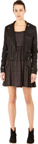 Ditsy Smock Dress - style: smock; length: mid thigh; fit: loose; occasions: casual; fibres: viscose/rayon - stretch; predominant colour: multicoloured; sleeve length: 3/4 length; sleeve style: standard; neckline: low square neck; pattern type: fabric; pattern size: standard; pattern: patterned/print; texture group: jersey - stretchy/drapey