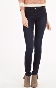 Premium Super Soft Jegging - length: standard; pattern: plain; style: leggings; pocket detail: large back pockets, traditional 5 pocket; waist: mid/regular rise; predominant colour: navy; occasions: casual, evening, work, holiday; fibres: cotton - stretch; texture group: denim; fit: skinny/tight leg; pattern type: fabric