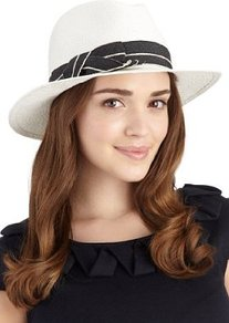 Wide Brim Bow Trilby Hat - predominant colour: white; occasions: casual, holiday; type of pattern: light; style: trilby; size: standard; material: macrame/raffia/straw; embellishment: bow, ribbon; pattern: plain, two-tone, colourblock