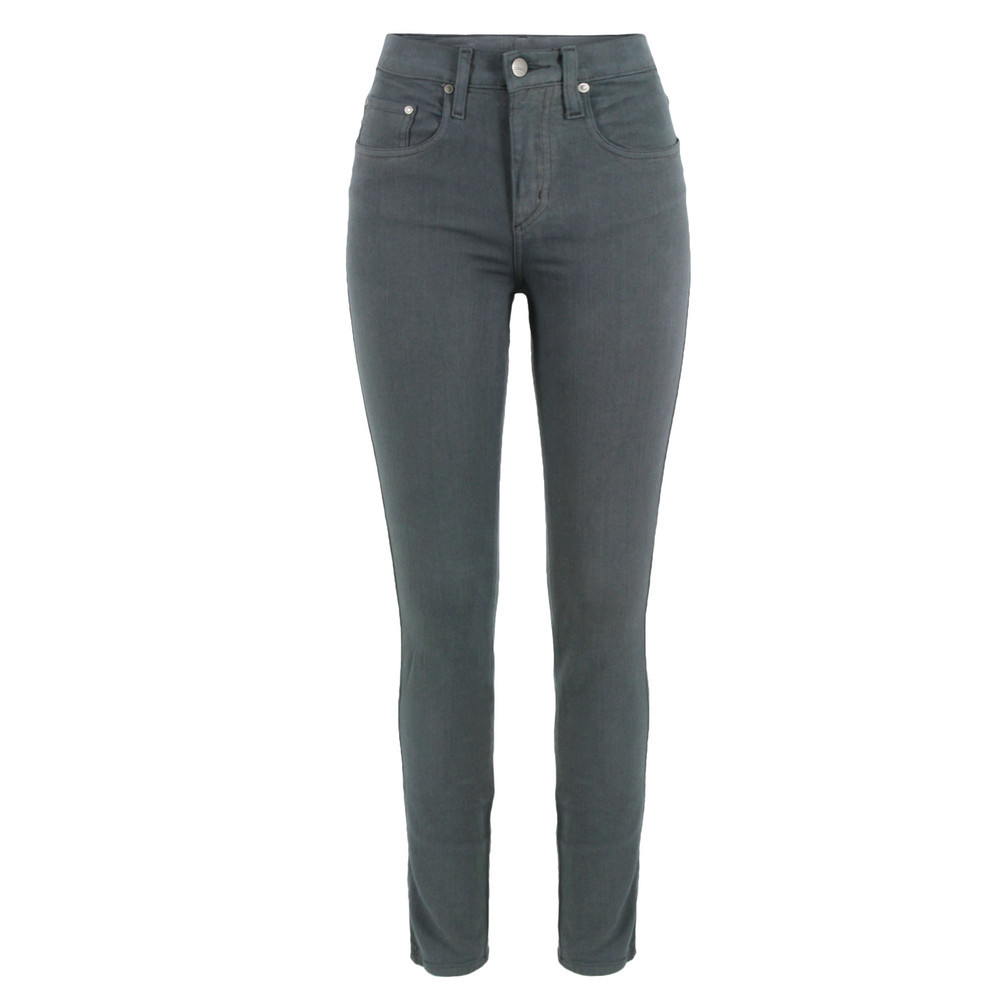 Cult Skinny Grey Jeans - style: skinny leg; length: standard; pattern: plain; pocket detail: traditional 5 pocket; waist: mid/regular rise; predominant colour: charcoal; occasions: casual; fibres: cotton - stretch; texture group: denim; pattern type: fabric; season: s/s 2013; pattern size: standard (bottom)