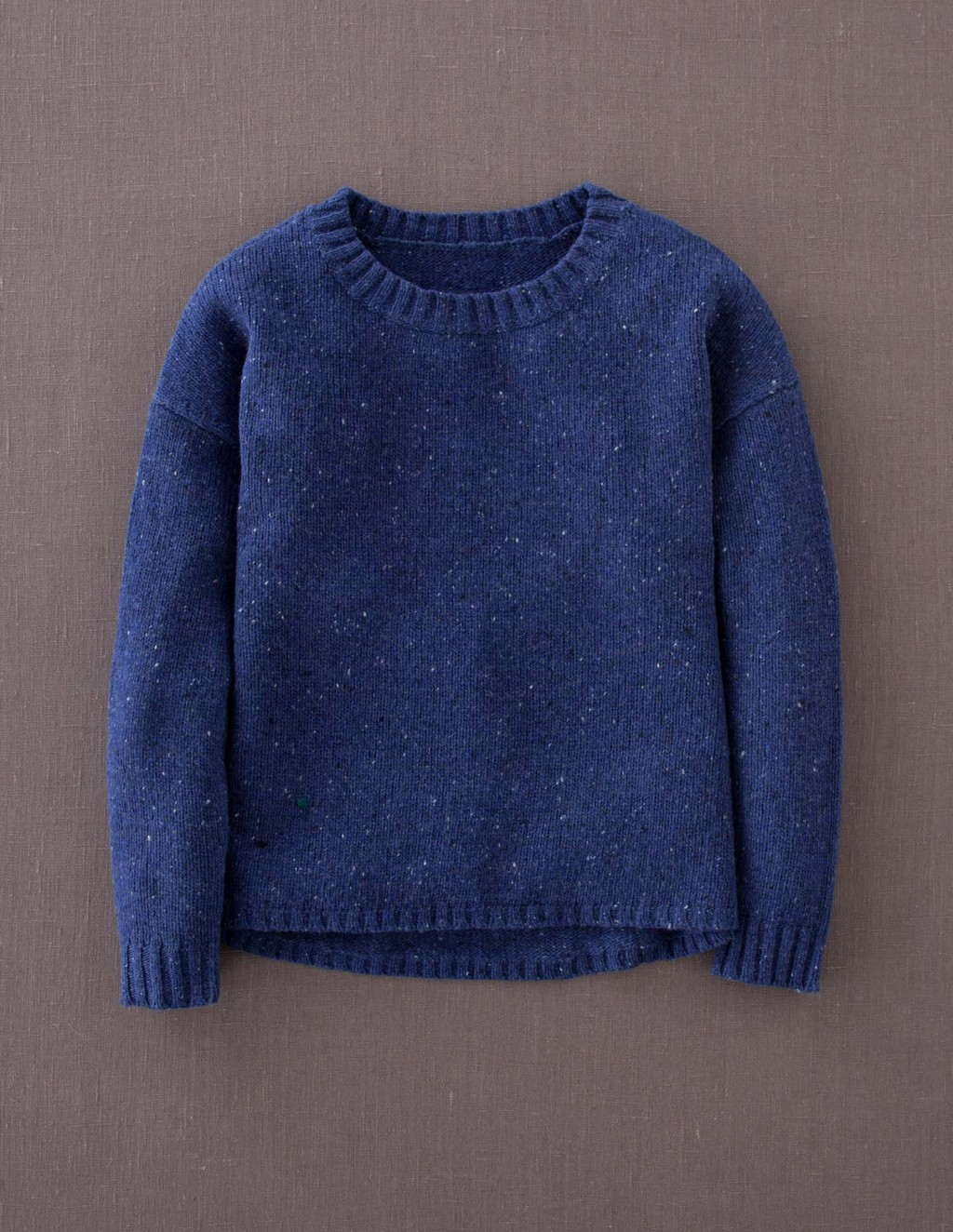 Skye Jumper - pattern: plain; style: standard; predominant colour: royal blue; occasions: casual; length: standard; fibres: wool - mix; fit: standard fit; neckline: crew; sleeve length: long sleeve; sleeve style: standard; texture group: knits/crochet; pattern type: knitted - fine stitch; season: a/w 2013