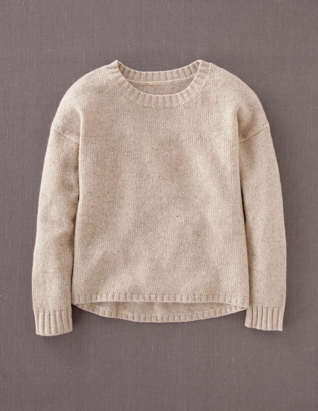 Skye Jumper - pattern: plain; style: standard; predominant colour: ivory/cream; occasions: casual; length: standard; fibres: wool - mix; fit: standard fit; neckline: crew; sleeve length: long sleeve; sleeve style: standard; texture group: knits/crochet; pattern type: knitted - fine stitch; season: a/w 2013