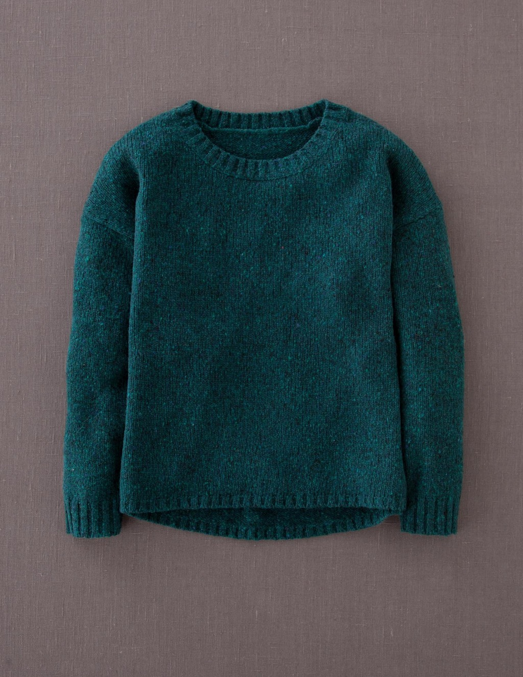 Skye Jumper - pattern: plain; style: standard; predominant colour: teal; occasions: casual; length: standard; fibres: wool - mix; fit: standard fit; neckline: crew; sleeve length: long sleeve; sleeve style: standard; texture group: knits/crochet; pattern type: knitted - other; season: a/w 2013