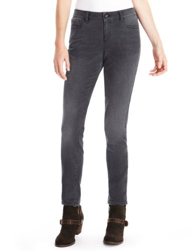 Indigo Collection Denim Skinny Jeans - style: skinny leg; length: standard; pattern: plain; pocket detail: traditional 5 pocket; waist: mid/regular rise; predominant colour: charcoal; occasions: casual; fibres: cotton - stretch; texture group: denim; pattern type: fabric; season: a/w 2013