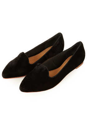 Mave Point Slipper - predominant colour: black; occasions: casual, evening, work, creative work; material: fabric; heel height: flat; toe: round toe; style: ballerinas / pumps; finish: plain; pattern: plain; season: a/w 2013